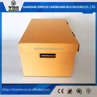 Customized packaging box with handle