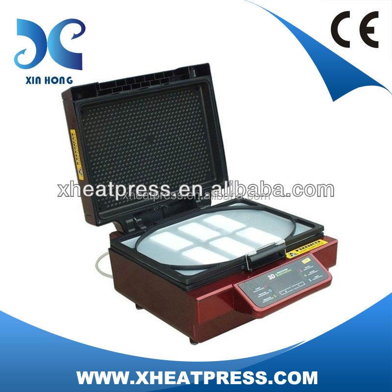 CE approved 3D vacuum sublimation machine/heat transfer machine for phone covep/hone case