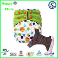 Happy flute washable cloth diaper AIO PUL waterproof nappies bulk sale factory