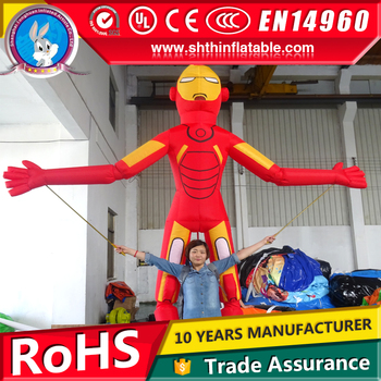 Inflatable advertising walking cartoon
