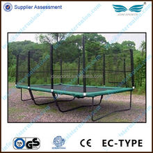 Enclosures Net New Style Useful Fitness Outdoor Square Mini Trampoline