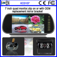 Cheap Car Bluetooth Rearview Mirror With FHD Touch Screen 7 Inch Car Monitor