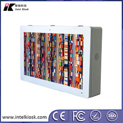 "Outdoor wall mounting 43"" high brightness digital signage LCD display"