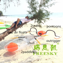 Clear Beautiful Boats,Sports Envirments.Fast Shiiping kayak