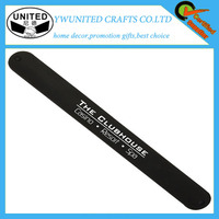 Great! Rubber slap bracelet with metal band