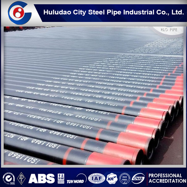 China Supplier casing and tubing api 5ct j55 k55 n80 l80 p110