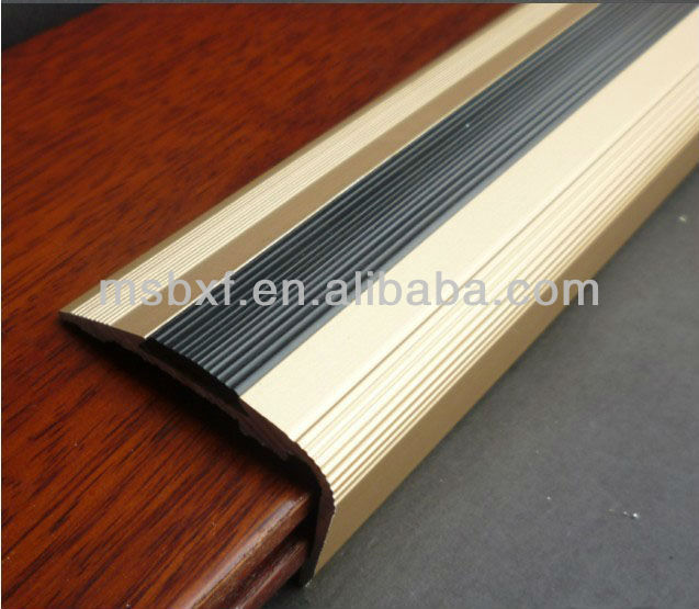 Wooden Staircase/Anti Slip Stair Nosing/Stair Trim/Stair Tread, View Wooden  Staircase, Wooden Staircase Product Details From Nanjing MEISHUO Building  ...