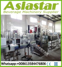 Fully automatic numbering label machine for beverage bottles