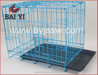 Factory Outlets Cheap Aluminium Acrylic Folding Metal Mesh Dog Cage For Sale