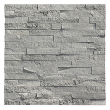 Made of natural marble exterior masonry veneer stacked stone panel