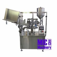 MIC-LL60 Aluminum Tube glue filling machine automatic packing machine