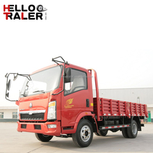 Sinotruk howo 4x2 light duty 5 ton diesel light cargo pickup truck for sale