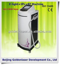 2013 Hot Selling Multi-Functional Beauty Equipment E-light+IPL+RF machine fat removal ultrasound rf simming