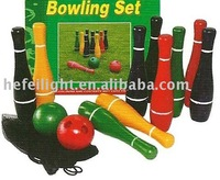 plastic bowling ball toy