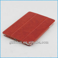 Reduced red semi-enclosed cover case for ipad mini