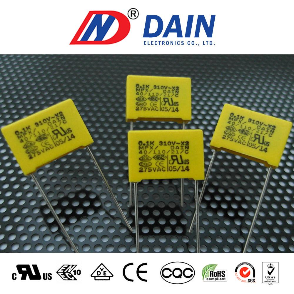 Hot selling Class x2 capacitor for used in electrical transformer