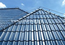 2017 hottest Peacock blue chinese clay clear flat Roof Tiles cheap