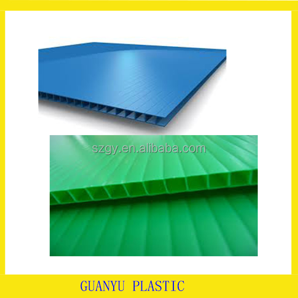 poly propylene hollow pp board/4x8 coroplast sheet