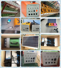 6-50W portable generator solar panel products