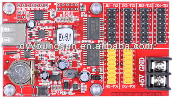 P12 BX-5U1 USB port led module controller