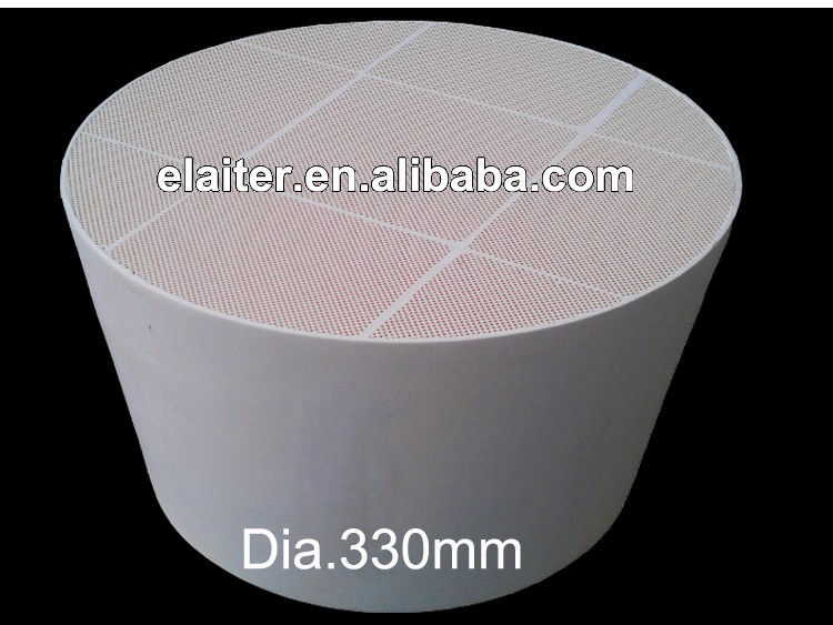 Silicon carbide sic honeycomb ceramic wall flow diesel smoke particulate filter DPF