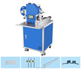 Semi automatic electric wire labeling machine charger line label machine