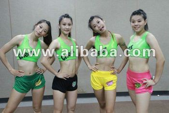 Cheer Fluorescent Green Sports underwear