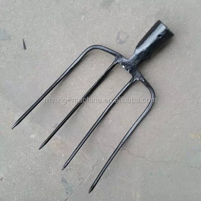 Hot sale garden digging pitchfork for sale buy pitchfork for Pitchfork tool for sale