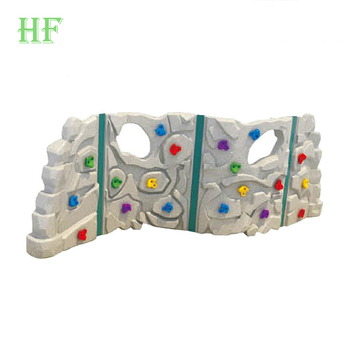 China plastic rock climbing wall outdoor