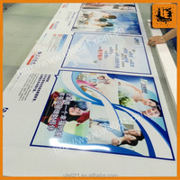 promotion printing custom removable static film, protective clear static cling film