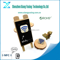 Adhesive Passive sticky NFC tag for cell phone