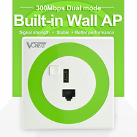 300Mbps Wall Wireless Router for Hotel Rooms wifi wall ap