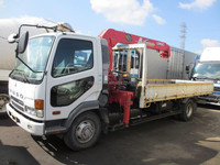 Used Mitsubishi Fighter Crane Truck