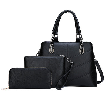 Wholesale black casual tote saffiano pu leather other handbags & messenger bags luxury women bags handbags in dubai