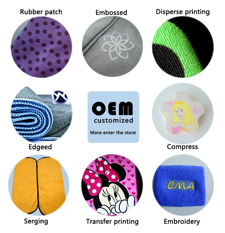 high absorbent reusable cotton microfiber dishcloth