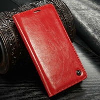 China Red CaseMe Brand Wallet Case for Samsung S5, for Samsung Galxy S5 Cell Phone Case, Cover for S5