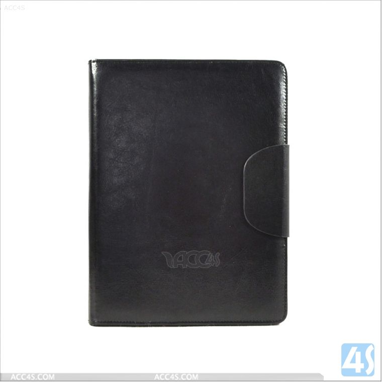 For iPad Air Leather Tablet Case Blank with Backup Battery P-IPD5CASE084