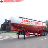 Big Tanker Trailer For Bulk Powder