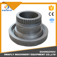 High precision internal gear PC400-2/PC400-3/PC400-5/PC400-7 swing gear parts used for excavator