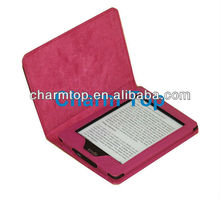 100% Brand New Leather Case Cover For Amazon Kindle 5