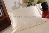 Natural white no dyed silk charmeuse pillow case