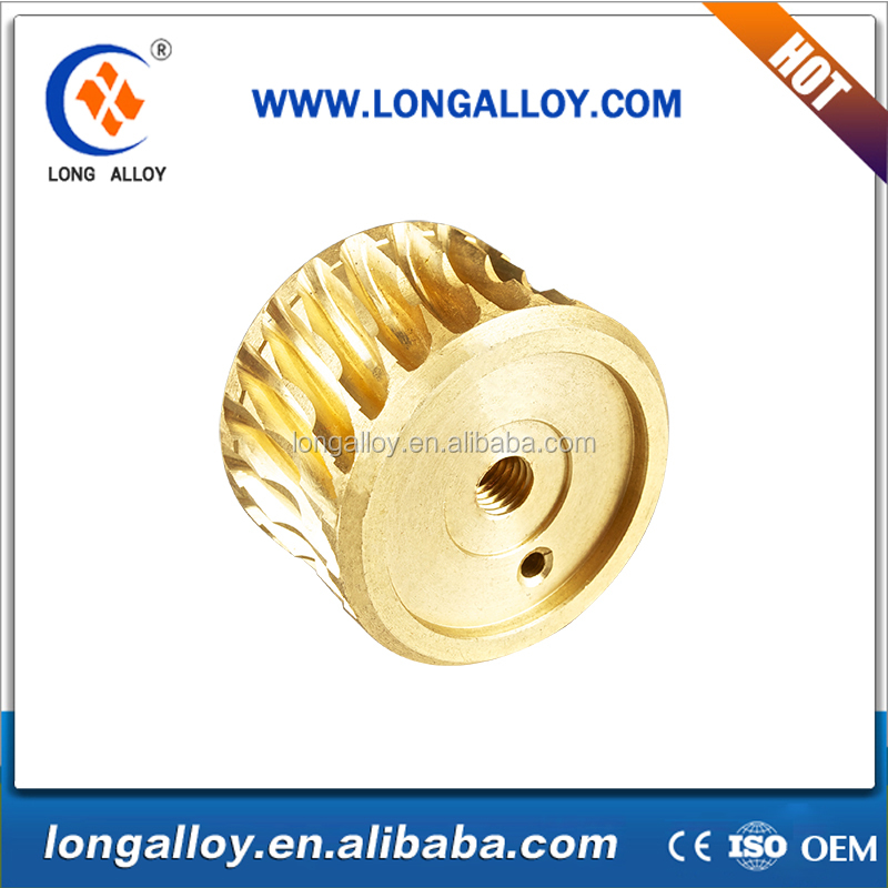 china customized small customized brass micro worm gear manufacturer