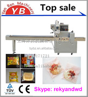 multi-function cake/chocolate/bread flow packing machine factory