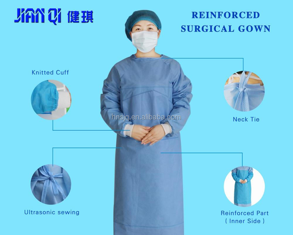 Disposable Operation Gowns/disposal Laboratory Gown/disposable ...