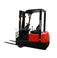 1.2-1.5tons electric stacker/warehouse good power forklift price/high lift pallet truck/yujie/logistics equipment