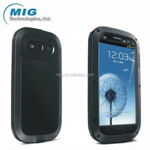 Hot Selling LOVE MEI Powerful 7 colors Case for Samsung galaxy S3 , Shockproof Waterproof Rugged Gorilla