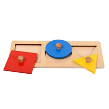 Educational preschool montessori materials kids wooden Toy