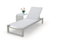 NEW Wicker Rattan China Manufacturer Outdoor Furniture Sun Lounger Set Chaise Lounge