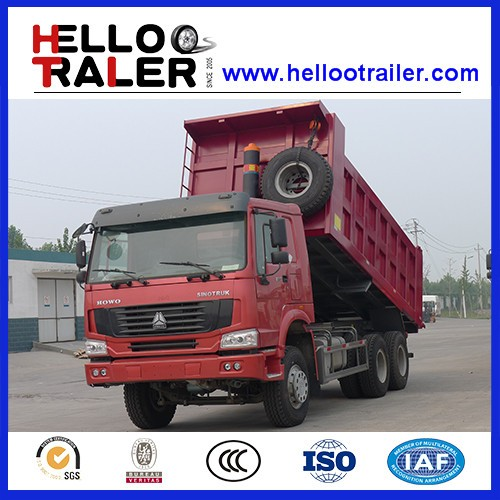 SINOTRUK 10 wheeler EURO II 371HP dump truck for sale in dubai