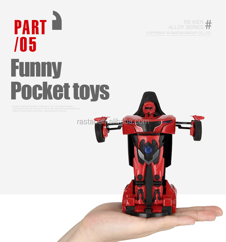 Rastar licensed cute size mini robot man toy